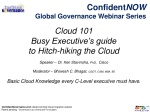 Cloud 101- A Primer for Busy Executives